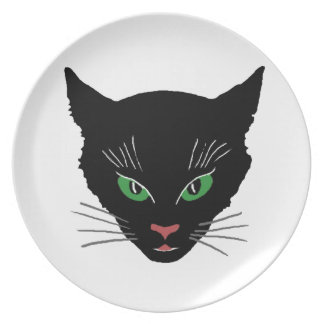 Vintage Cat Plate