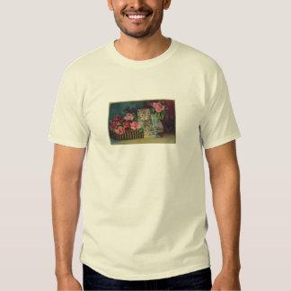 Vintage Cat Postcard T-shirt