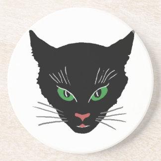Vintage Cat Sandstone Coaster