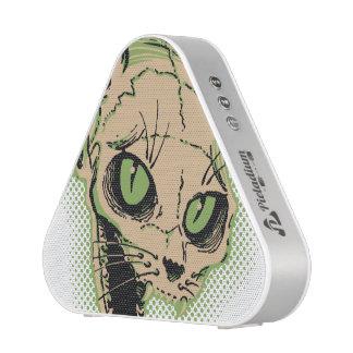 Vintage Cat Skull Speaker