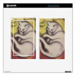 Vintage Cat Sleeping Decals For Kindle Fire