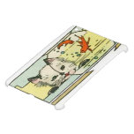 Vintage Cat with Fish Bowl iPad Mini Covers