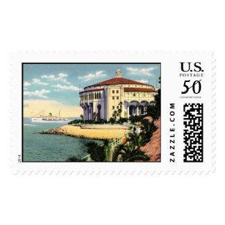 Vintage Catalina Island Casino Stamp