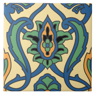 Vintage Catalina Island Ceramic Tile Design
