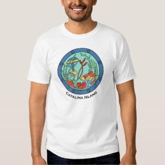Vintage Catalina Island Design - Undersea Garden T Shirt