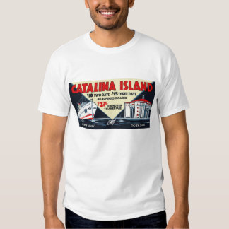 Vintage Catalina Island Steamship and Casino Tee