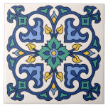 "Vintage Catalina Island Tile Design<br><div class=""desc"">1930s Vintage Catalina Tile Design</div>"