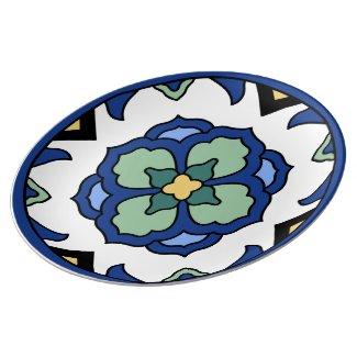 Vintage Catalina Island Tile Design Plate