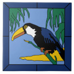 Vintage Catalina Island Toucan Tile