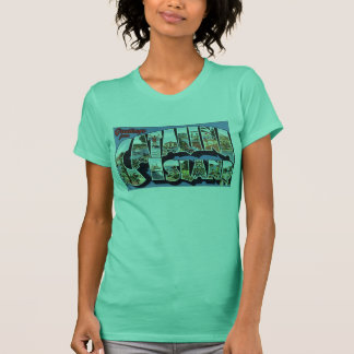 Vintage Catalina Luggage Label print T-Shirt