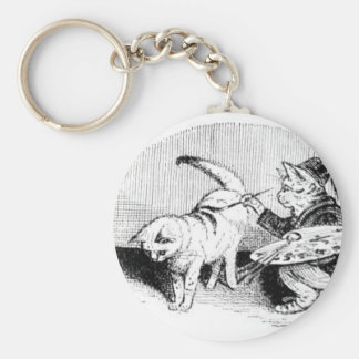 Vintage Cats Key Chains