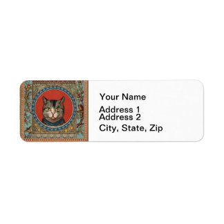 Vintage Cat's Life for Kitty Lovers Label
