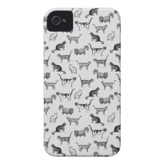 Vintage Cats Pattern Case-Mate iPhone 4 Case