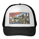 Vintage Catskill Mountains Postcard Trucker Hats