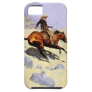 Vintage Cavalry Military, The Cowboy by Remington iPhone SE/5/5s Case