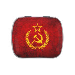 Vintage CCCP flag Candy Tins