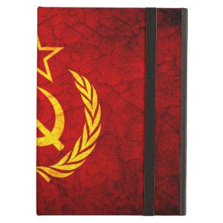 Vintage CCCP flag Cover For iPad Air