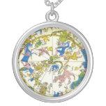 Vintage Celestial, Antique Constellation Map Stars Jewelry