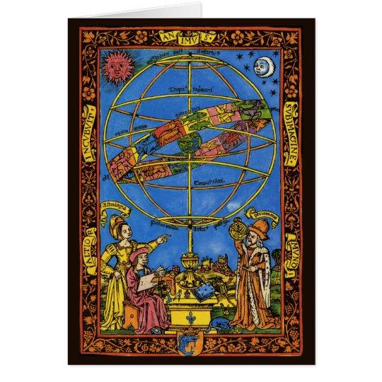 Vintage Celestial, Astronomer Claudius Ptolemy Card