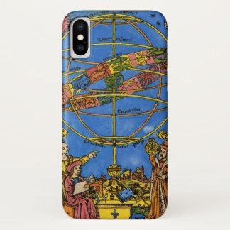 Vintage Celestial, Astronomer Claudius Ptolemy iPhone X Case