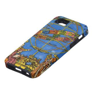 Vintage celestial, astrónomo Claudius Ptolomeo Funda Para iPhone SE/5/5s