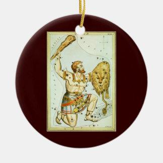 Vintage Celestial Astronomy, Orion Constellation Ceramic Ornament