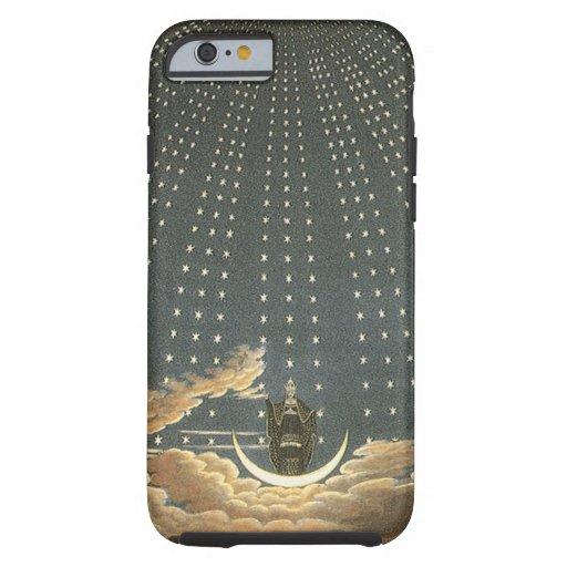 Vintage Celestial, Astronomy, Queen of the Night iPhone 6 Case