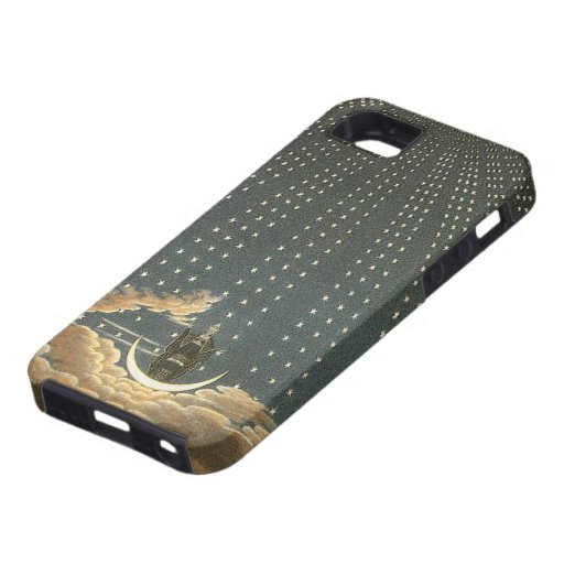 Vintage Celestial, Astronomy, Queen of the Night iPhone 5 Cover