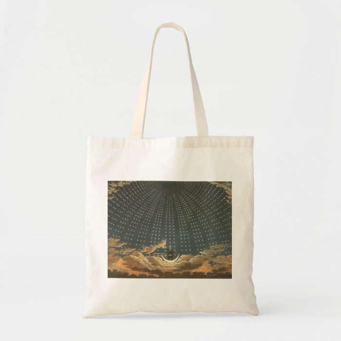 Vintage Celestial Astronomy, Queen of the Night Tote Bag