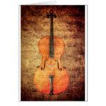 Vintage Cello Card