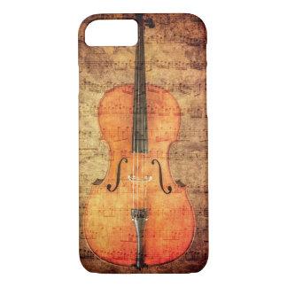 Vintage Cello iPhone 7 Case
