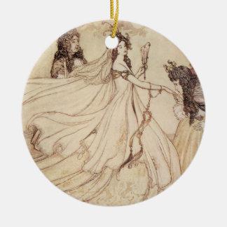 Vintage Cenicienta (Ashenputtel) por Arturo Rackha Ornaments Para Arbol De Navidad
