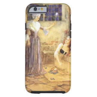 Vintage Cenicienta y cuento de hadas de la hada Funda De iPhone 6 Tough