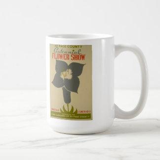 "Vintage ""Centennial Flower Show"" WPA Poster Mug"