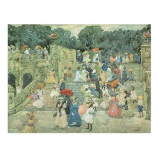Vintage Central Park, New York Postcard