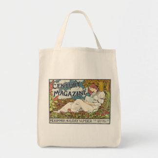 Vintage Century Magazine Poster Tote Bag