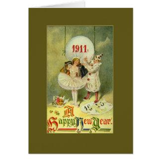 Vintage Century New Year Card