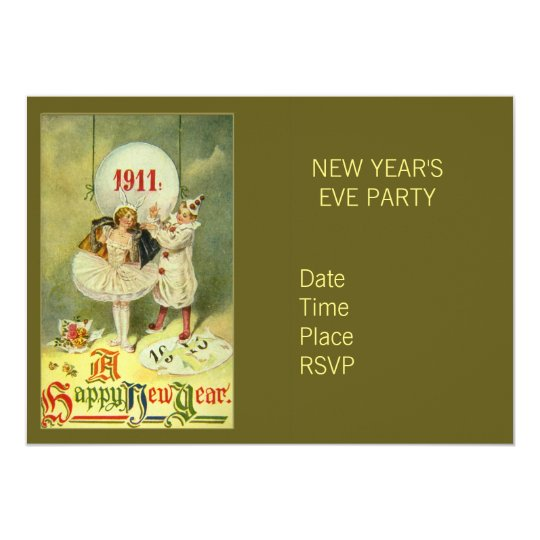 Vintage Century New Year Card
