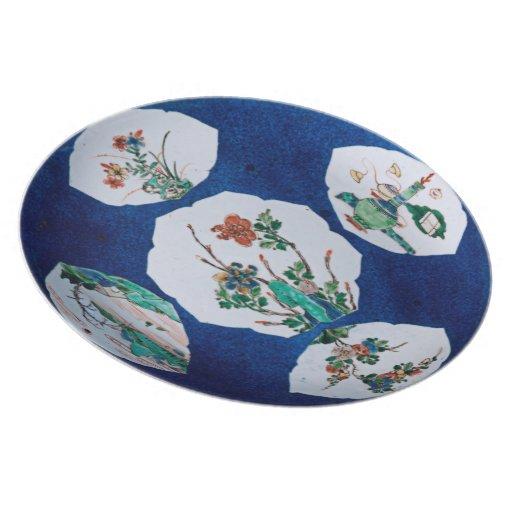 Vintage Ceramic Dinner Plate