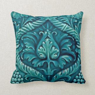Vintage Ceramic Tile Designs Throw Pillow