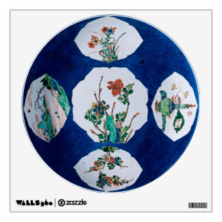Vintage Ceramic Wall Decal