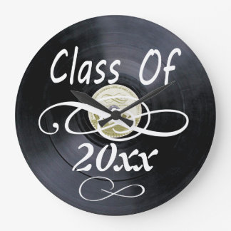 Vintage chalk board PERSONALIZE time Large Clock