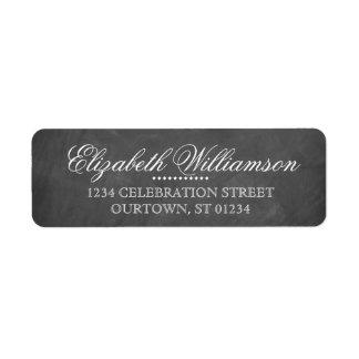 Chalkboard Shipping, Address, & Return Address Labels | Zazzle