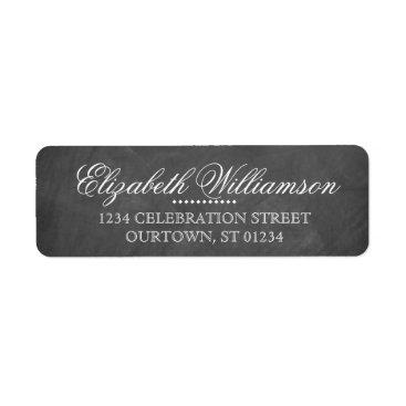 reflections06 Vintage Chalkboard Address Label