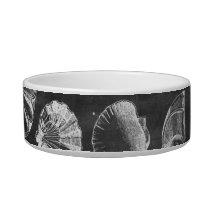 vintage chalkboard beach french country seashells bowl