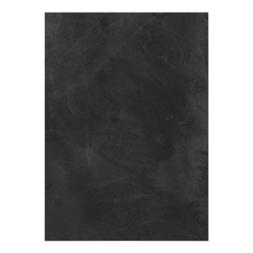 Vintage Chalkboard Bridal Shower Invites (back side)