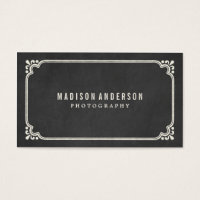 Vintage Chalkboard | Business Cards