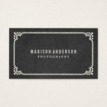 Vintage Chalkboard | Business Cards