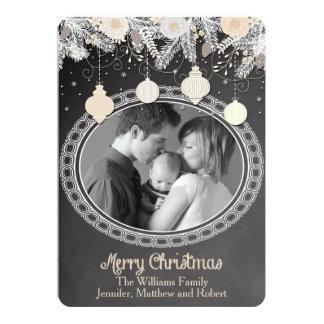 Vintage Chalkboard Christmas Card