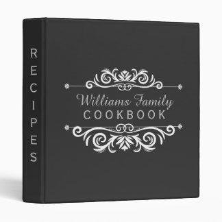 Vintage Chalkboard Family Cookbook Rustic Recipes Binder